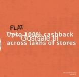 Merchants 100% Cashback – FreeCharge Wallet