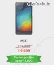 Mi4i 9999 : Buy Mi4i @ Rs.9999 – Flipkart Big App Shopping Days