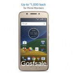 Moto G5 + 16GB SanDisk Ultra MicroSD Card Class 10 Rs. 10499 (HDFC Credit Cards) or Rs. 10999 (Prime Members) or Rs. 11999 – Amazon