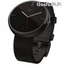 Motorola Moto 360 Smartwatch @ Rs.10999 – Flipkart