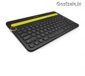 Logitech Bluetooth Multi-Device Keyboard K480 Rs. 1829 – Amazon