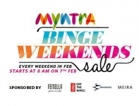 Myntra Binge Weekends Sale – Every Weekend – 15th Feb