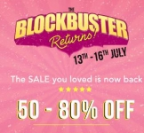 Myntra Blockbuster Sale – All Deals at One Place