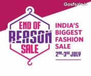 Myntra EORS 2-3 July : Myntra 2nd July EORS : End of Reason Sale : Myntra Midnight Sale 2-3rd July Sale