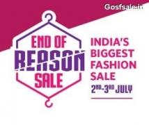 Myntra EORS 2-3 July : Myntra 2nd July EORS : End of Reason Sale : Myntra Midnight Sale 2-3rd July Sale