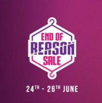 Myntra End of Reason Sale 24th June Sale : 24 – 26 June