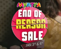 Myntra End of Reason Sale – EORS : 18th & 19th July 2015