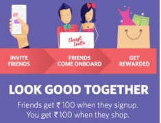 Myntra Free 100 Credits – Rs.100 Free Shopping on Myntra