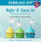 Myntra Refer and Earn : Myntra Free Rs.300 Credits + Rs.300 Per Refer