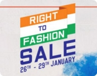Myntra Republic Day Sale – 26th Jan | Myntra Right to Fashion Sale – 26 January 2017 Sale