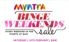 Myntra Valentine's Day Offers & Deals – 14th Feb 2015 Sale