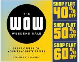 Myntra Wow Weekend Sale – Flat 60% Off
