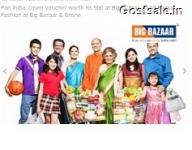Nearbuy Big Bazaar Offer : Pay Rs.349 For Rs.500 Big Bazaar Voucher