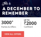 Nearbuy New Year Offer 2017 : NearBuy New Year Party Sale :  Upto 80% off + 20% Extra