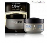 Olay Total Effects 7 In 1 Anti Aging Night Skin Cream (Moisturizer) 50 Gm @ Rs.160 – Nykaa