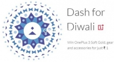 OnePlus 3 Rs.1 Sale : OnePlus 3 Diwali Sale – OnePlus Dash Diwali Sale – 24th – 26th Oct