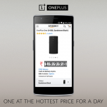 OnePlus One Rs.19998 – Rs.2000 off on OnePlus One – 18th June