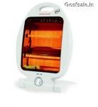 Orpat OQH-1230 800-Watt Quartz Heater (White) @ Rs.475 ( 50% Off ) – Amazon