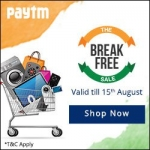 Paytm Independence Day Sale : Paytm Independence Day Offers & Coupons 2015