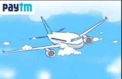 Paytm PFLY Code :  Rs 750 Cashback On Flight Tickets (No Minimum)