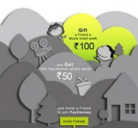 Payumoney Independence Day Offer : Free Rs.100 Movie Voucher