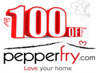 Pepperfry 100 off on 250 : Rs.100 off on Order Above Rs.250