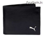 Puma Black Leather Wallet @ Rs.370 – Snapdeal