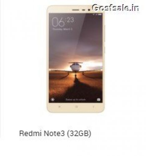 Redmi note 3 gold snapdeal