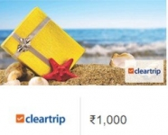 Rs. 1000 ClearTrip Instant Voucher Rs. 800 – Amazon