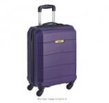 Safari Polycarbonate 56 Ltrs Purple Hardsided Carry On @ Rs.2009 – Amazon