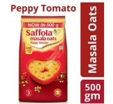 Saffola Masala Oats, Peppy Tomato, 500g @ Rs.90 – Amazon