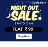 ShopClues Night Out Sale : Buy Anything @ Rs.99