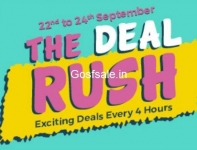 ShopClues The Deal Rush – Rs.55,Rs.99.Rs.199,Rs.299 Store : 22nd to 24th September