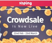 Shping CROWDSALE IS NOW LIVE – Buy Shping Coin Tokens
