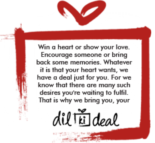 2323f006f38 Snapdeal Dil ki Deal - Dil ki Deal for You