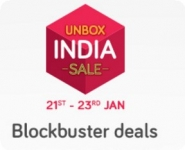 Snapdeal Unbox India Sale – 21st Jan Sale : 21 – 23 January 2017 : Unbox India Sale