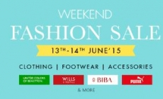 SnapDeal Weekend Fashion Sale : Clothing, Footwear & Accessories 30% to 70% off