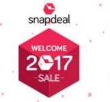 Snapdeal Welcome 2017 Sale – Snapdeal Welcome Sale – 8th – 9th Jan 2017