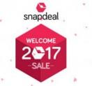 Snapdeal Welcome 2017 Sale – Snapdeal Welcome Sale – 8th – 9th Jan 2017
