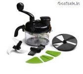 Wonderchef Turbo Dual Speed Food Processor + Knife and Peeler Rs. 855 – Amazon