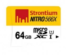 Strontium Nitro 64GB 85MB/s UHS-1 Class 10 Memory Card @ Rs.1029 – Amazon