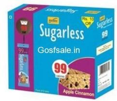 RiteBite Sugarless Protein Bar Pack of 6 Rs. 103 – Amazon