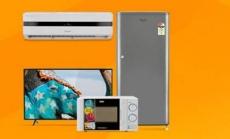 TVs & Large Appliances upto 50% off + 10% Cashback on Rs 5000 – Amazon