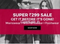 TataCliq 299 Sale : Tatacliq Rs.299 Store : Clothing & Footwear Super @ Rs. 299 Sale