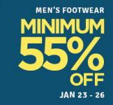 The Flipkart Fashion Sale – Minimum 55% Off on Clothing,Footwear,Accessories & More