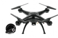 Toyhouse Explorers Drone with HD CAMERAX5C-1 Upgraded 2.4G GYRO 4 CH RC Quadcopter, Black @Rs.3250