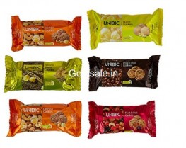 Unibic Assorted Cookies 75gm Pack of 6 @ Rs. 104 – Amazon