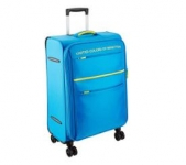 United Colors of Benetton Polyester 58 cms Blue Suitcase at just Rs.2930 – Amazon