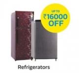 Upto Rs.16000 Off on Refrigerators – Flipkart 25 May Deals