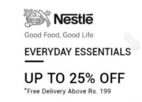 Upto 50% off on Nestle Store – SnapDeal